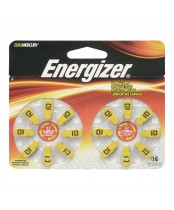 Energizer EZ Turn 'n Lock Size 10 Hearing Aid Battery