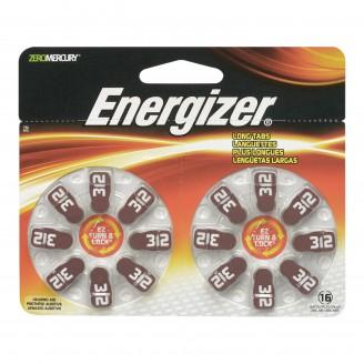 Energizer EZ Turn 'n Lock Size 312 Hearing Aid Battery