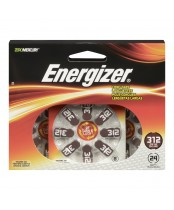 Energizer EZ Turn 'n Lock Size 312 Hearing Aid Battery