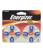 Energizer EZ Turn 'n Lock Size 675 Hearing Aid Battery