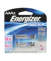Energizer Ultimate Lithium AAA2 Batteries
