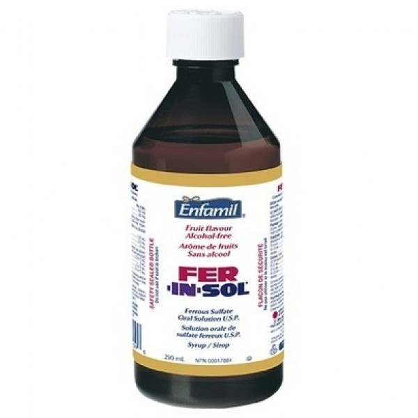 Buy Enfamil Fer-In-Sol Iron Supplement Syrup in Canada ...