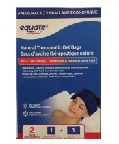 Equate Natural Therapeutic Oat Bags Value Pack