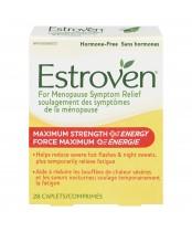 Estroven Maximum Strength + Energy Menopause Symptom Relief