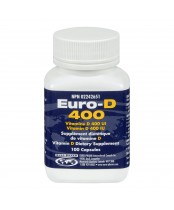Euro-D 400 Vitamin D Dietary Supplement
