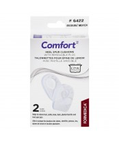 Formedica Comfort Heel Spur Cushions With Removable Plug