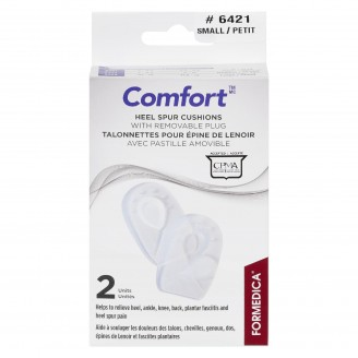 Formedica Comfort Heel Spur Cushions With Removable Plug Small