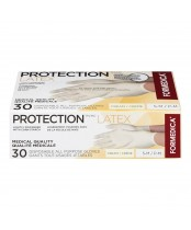 Formedica Protection Lightly Powdered Latex Disposable All Purpose Gloves Small/Medium