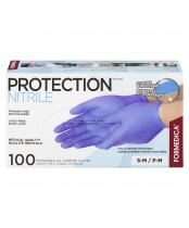 Formedica Protection Nitrile Powder Free Disposable All Purpose Gloves Small/Medium