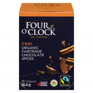 Four O'clock Black Tea Chocolate Spice Herbal Tea