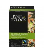 Four O'Clock Coconut Ginger Green Tea