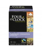 Four O'Clock Turmeric Cinnamon Herbal Tea