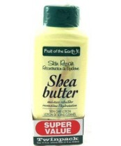Fruit of the Earth Shea Butter Lotion Twin Pack