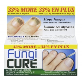 Fungi Cure Anti-Fungal Liquid Topical Formula Value Size