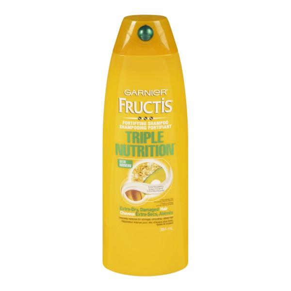 Shampoo Garnier Triple Nutrition Extra Dry Damaged Hair