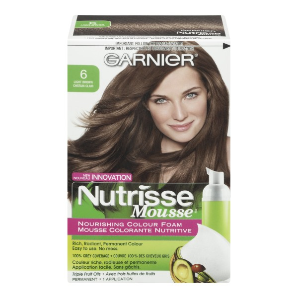Buy Garnier Nutrisse Mousse Nourishing Colour Foam In Canada Free