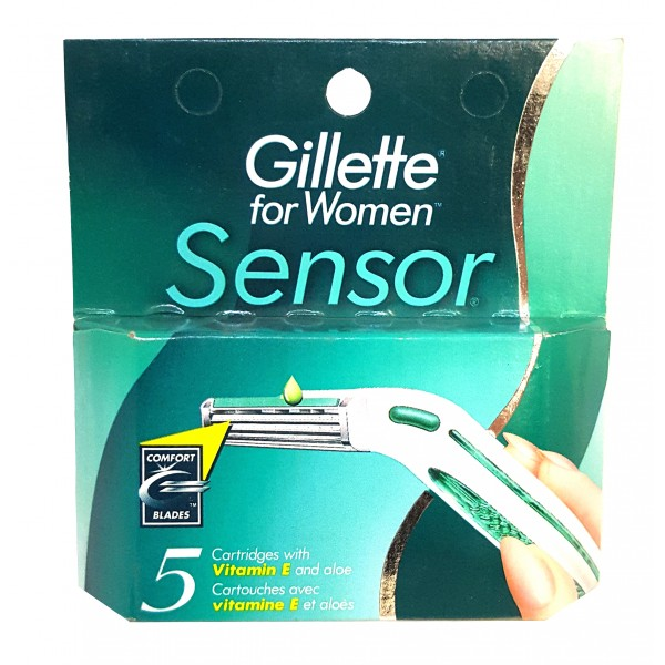 Buy Gillette For Women Sensor Comfort Blades In Canada
