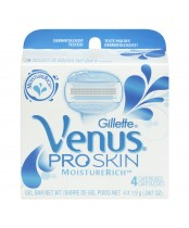 Gillette Venus Pro Skin Moisture Rich Replacement Blades