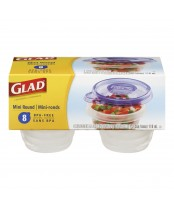 Glad Mini Round Containers