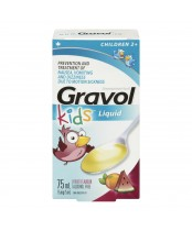 Gravol Kids Dimenhydrinate Liquid