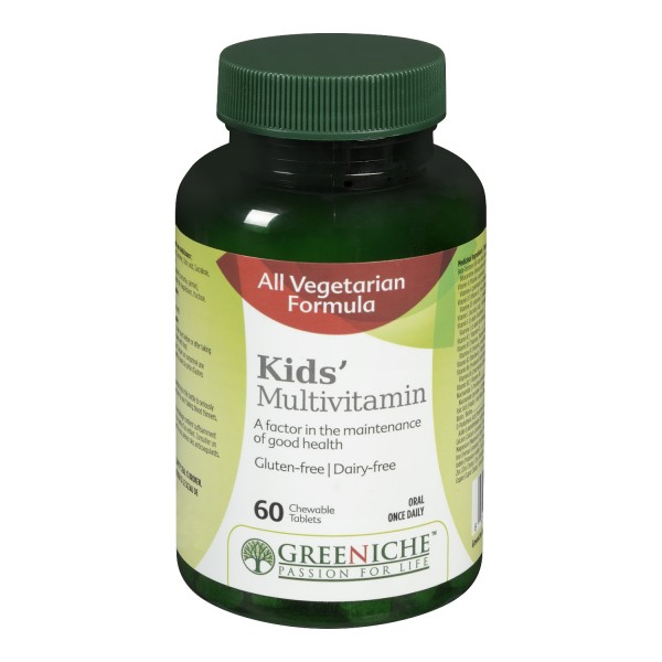 Buy Greeniche Kids Multivitamin Chewable Tablets in Canada ...