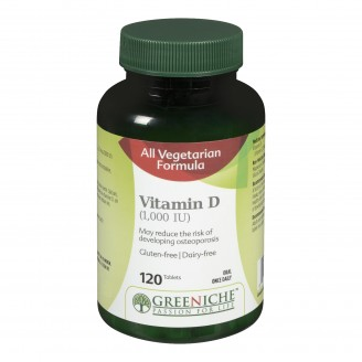 Greeniche Vitamin D Tablets