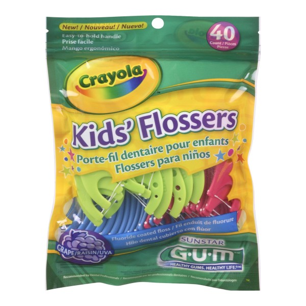 Buy Gum Crayola Flossers Same Day Shipping In Canada