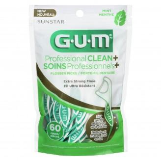 GUM Professional Clean Flosser Picks