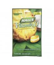 Halls Sugar Free Vitamin D Supplement Drops