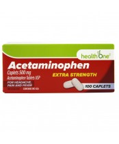 health One Acetaminophen Extra Strength Caplets