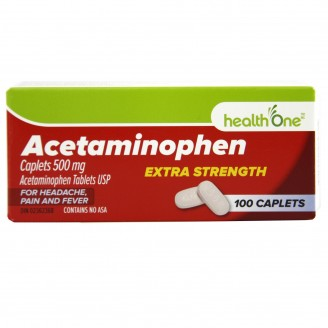health One Acetaminophen Extra Strength Caplets