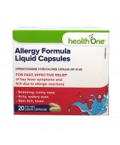 health One Allergy Formula Liquid Capsules