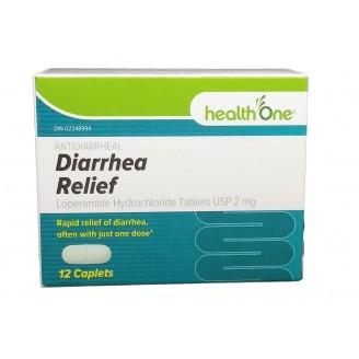 health One Antidiarrheal Diarrhea Relief