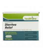 health One Antidiarrheal Diarrhea Relief