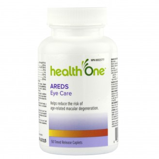 health One Areds Eye Care Formula Timed Release Tablets