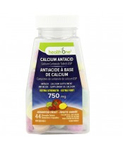 health One Calcium Antacid Travel Extra Assorted Fruit 44's