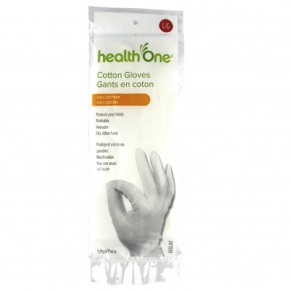 health One Cotton Gloves