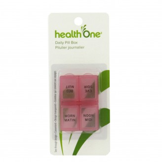 health One Daily Pill Box