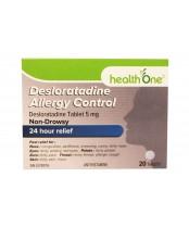 health One Desloratadine Allergy Control