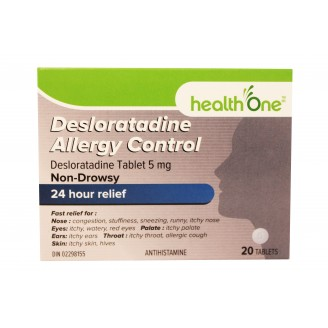 health One Desloratadine Allergy Control
