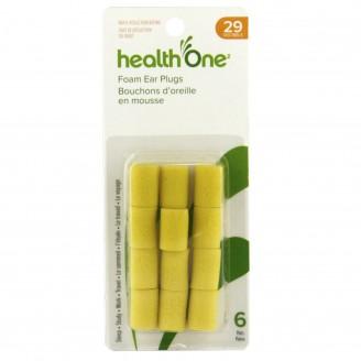 health One Foam Ear Plugs