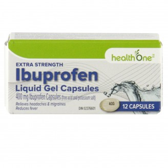 health One Ibuprofen Extra Strength Liquid Gels