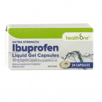 health One Ibuprofen Extra Strength Liquid Gels