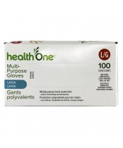 health One Multi-Purpose Latex Gloves - Large
