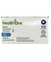 health One Multi-Purpose Latex Gloves - Medium