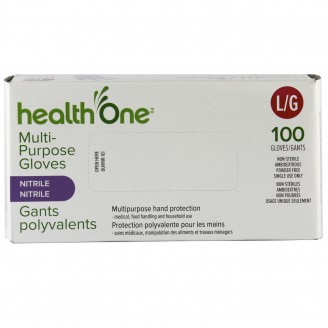 health One Multi-Purpose Nitrile Gloves - Large