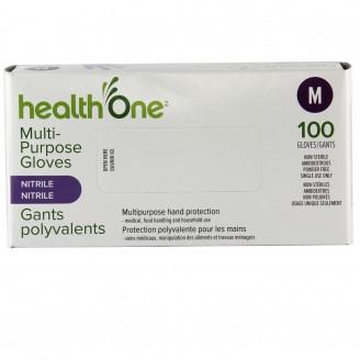 health One Multi-Purpose Nitrile Gloves - Medium