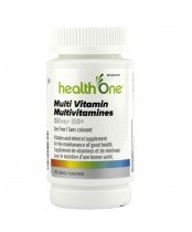 health One Multivitamin Silver 50+ Tablets