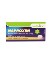 health One Naproxen Sodium Caplets