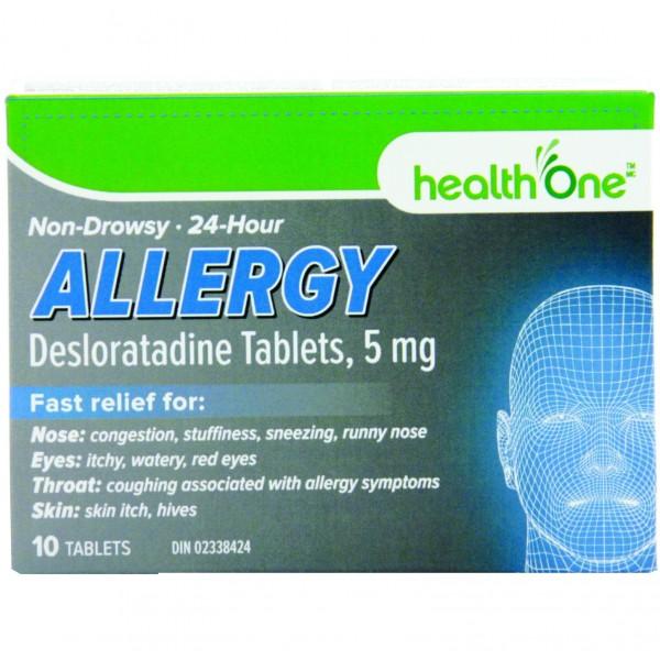 Desloratadine 5mg Tablets